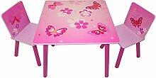 Homestyle4u 643 Kindersitzgruppe Schmetterling