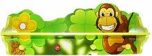 Homestyle4u 769, Kindergarderobe Dschungel Tiere,