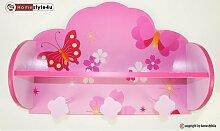 Homestyle4u 771 Kindergarderobe Schmetterling