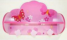 Homestyle4u 771, Kindergarderobe Schmetterling