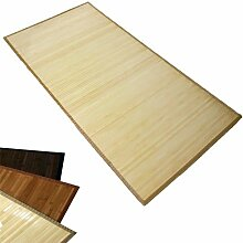 Homestyle4u Bambusteppich Bambusmatte Teppich Bambus 120 x 180 cm natur