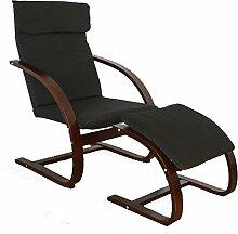 Homestyle4u Schwingsessel Freischwinger Sessel mit
