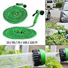 Homeve Flexibler Gartenschlauch für Autoschlauch,