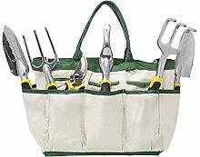 Homewell 8-teiliges Gartengerät-Set beinhaltet: