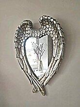 Homezone® Silber im Used Look Engel Flügel