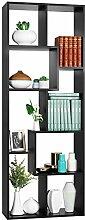 Homfa 160cm Bücherregal Standregal Raumteiler