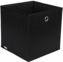 Homfa 24 Stück Aufbewahrungsbox Stoff Set Faltbox