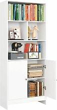 Homfa Bücherregal Bücherschrank Raumteiler