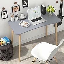 Homfa Schreibtisch grau 100x50x75cm Konferenztisch