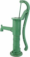 Homgrace Gartenpumpe Schwengelpumpe Wasserpumpe Nostalgie Pumpe Handpumpe Classic Handschwengelpumpe (Grün)