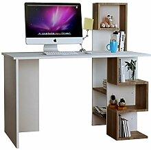 Homidea DERONI Schreibtisch - Weiß -