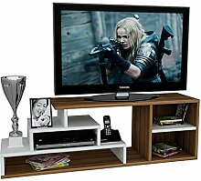 Homidea LUCA Wohnwand - TV Lowboard - TV Board -