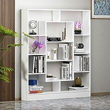 Homidea Venus Bücherregal - Weiß (glänzend) -