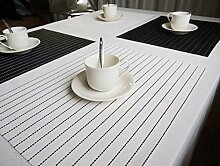 Homieco Tischsets 6er Set Platzsets