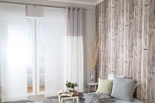 HOMING Vorhang Caja, BxH: 140x245 245 cm, Ösen,