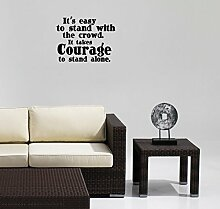 hommay Wandtattoo & #, S einfaches Wohnzimmer Schlafzimmer den TV Mauer, Home Dekoration Tapete Wandbild Art Aufkleber 55,9cm x43.2cm