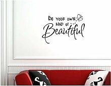 hommay Wandtattoo werden Sie Ihre eigenen machen Home Dekoration Tapete Wandbild Art Aufkleber 56cm x 38,5cm