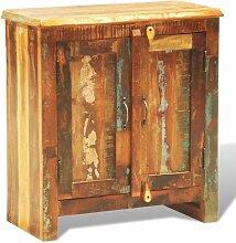 Hommoo Anrichte mit 2 Türen Recyceltes Massivholz