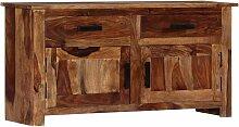 Hommoo Sideboard 100 x 30 x 50 cm Massivholz