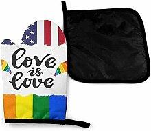 Homosexuell Stolz amerikanische Flagge Liebe ist