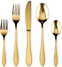 Homquen Besteck-Set, 6-teilig, Steakmesser-Set