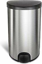 Homra Sensor Mülleimer mit Fußsensor, 50 Liter -