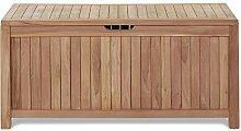 Homy Truhe Holz Teak Braun Aufbewahrung