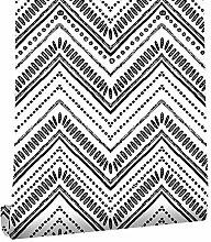 Homye Selbstklebende Tapete mit geometrischem