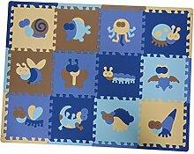 Homyl 12er-Set Puzzlematte Bodenmatte Spielmatte