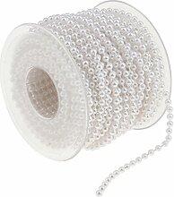 Homyl 20 Meter Rolle Perlenkette Perlengirlande