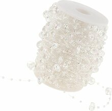 Homyl 30 M Kunststoff Perlengirlande Perlenband