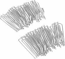 Homyl 30 Stück Gardinenröllchen Gardinen