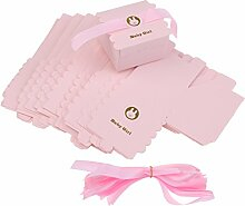 Homyl 50 x Papier Süßigkeiten Schachtel