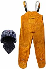 Homyl Baumwolle Schweißhosen Mit Schutzkappe Hut