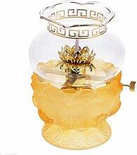 Homyl Buddhistische Ghee Lampe Öllampe mit Docht