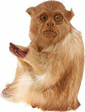 Homyl Dekofigur sitzend Affe Tierfigur Garten