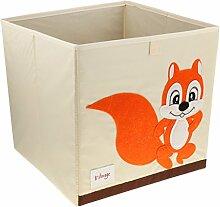 Homyl Faltbox Spielbox Tiermotiv Aufbewahrungbox