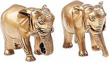 Homyl Figur Elefant Ornamente Dekoration