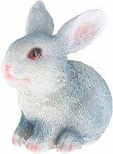 Homyl Kaninchen Tierfigur Hase Gartenfigur