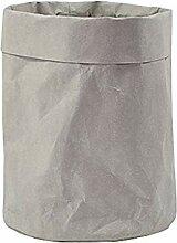 Homyl Kraftpapier Tragetaschen waschbar für
