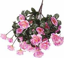 Homyl Künstliche Azalee Blumen Kunstblumen