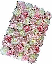 Homyl Künstliche Blumen Säule Wand Kunstblumen