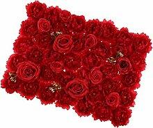 Homyl Künstliche Rose Blumen Säule Wand