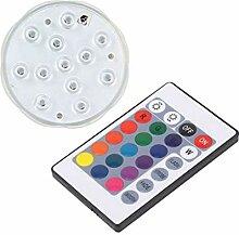 Homyl LED Unterwasserlicht Teichbeleuchtung mit