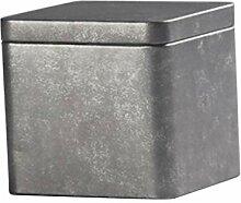 Homyl Luftdichtes Zinn Metall Teebox Teekiste