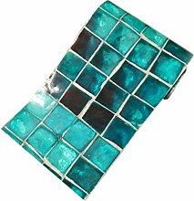Homyl Mosaik Fliesenaufkleber Fliesenbild Fliesen