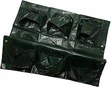 Homyl Pflanze wachsende Tasche Pflanzentasche 6 Taschen Muster für Kartoffeln, Tomaten, Kräuter usw.