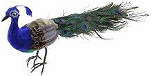 Homyl Realisierte Vogelfigur Pfau zaunfigur