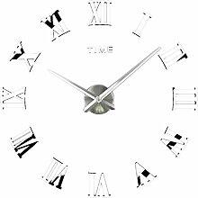 Homyl Römische Ziffern 3D Wand Uhr Classical
