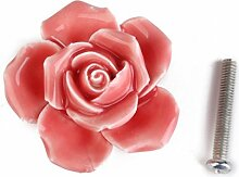 Homyl Rose Möbelknopf Möbelknöpfe Möbelgriff Komodengriff